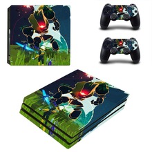Game Risk of Rain PS4 Pro Skin Sticker For Sony PlayStation 4 Console and Controllers PS4 Pro Skin Sticker Decal Vinyl