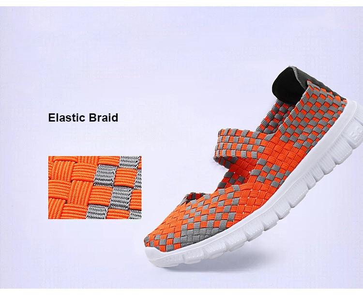 QJ 599-2019 Breathable Women Summer Shoes Fabric Woman Flats-6