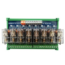 8-way relay module omron OMRON multi-channel solid state relay plc amplifier board 8 way omron relay module module plc amplifier board driver board output board 16a g2r 1 e