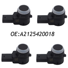 4PCS PDC A2125420018 Parking Sensor Fits Mercedes Benz W221 C207 C216 R172 2125420018 0263013267