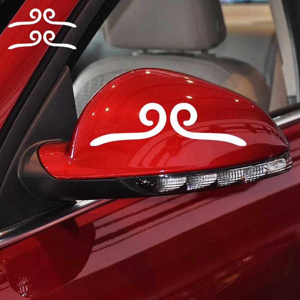 反射車のステッカー猿王の締め付け-クラウン面白いボディデカール用vwシュコダポロゴルフオペルルノースマートpeygeot 206