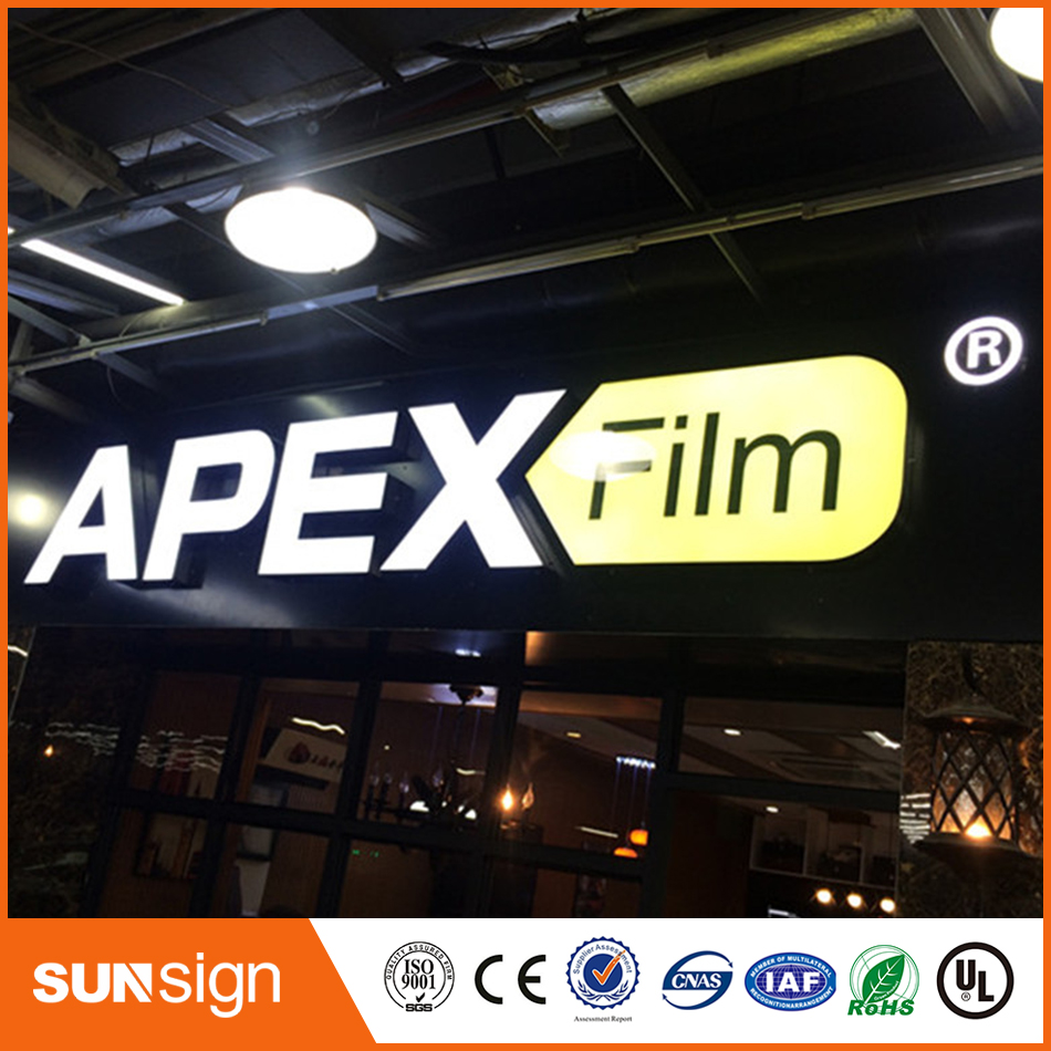 Cheap Custom Outdoor Stainless Steel Channel Letters Sign For Business
