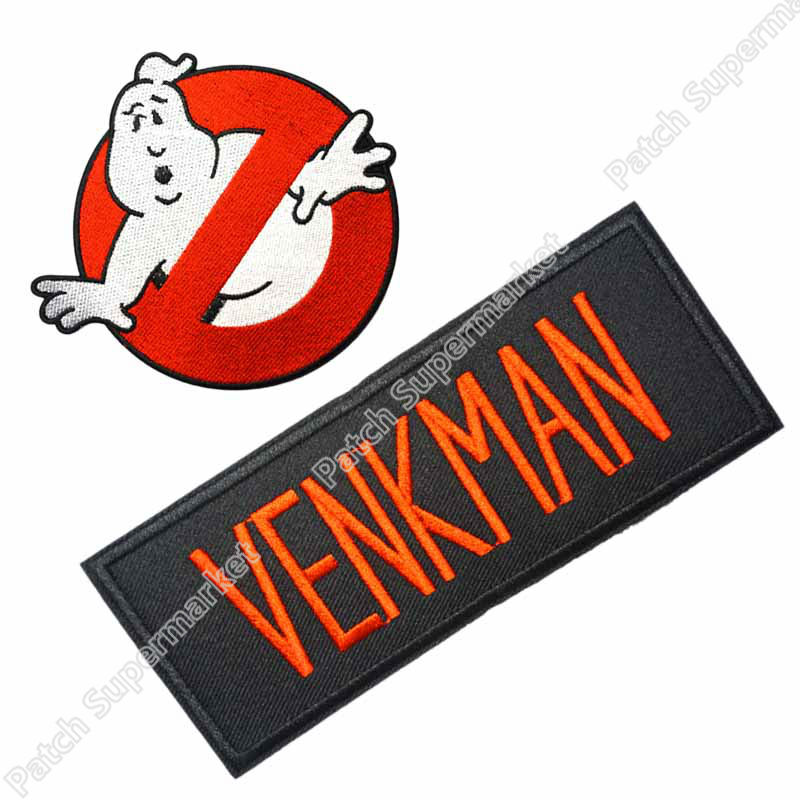 Ghostbusters Name Tag Venkman Cosplay//Costume//Uniform patch