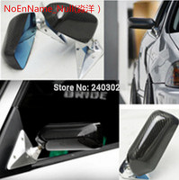 Car Accessories Carbon Fiber F1 StyleMirrors with Metal Bracket and Polarized Mirrors for Ford C MAX cmax c max Grand C MAX
