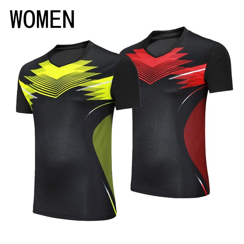 Бесплатная доставка, новые теннисные рубашки, бадминтон, костюмы, женские блузы, Fast Dry летние теннис одежда