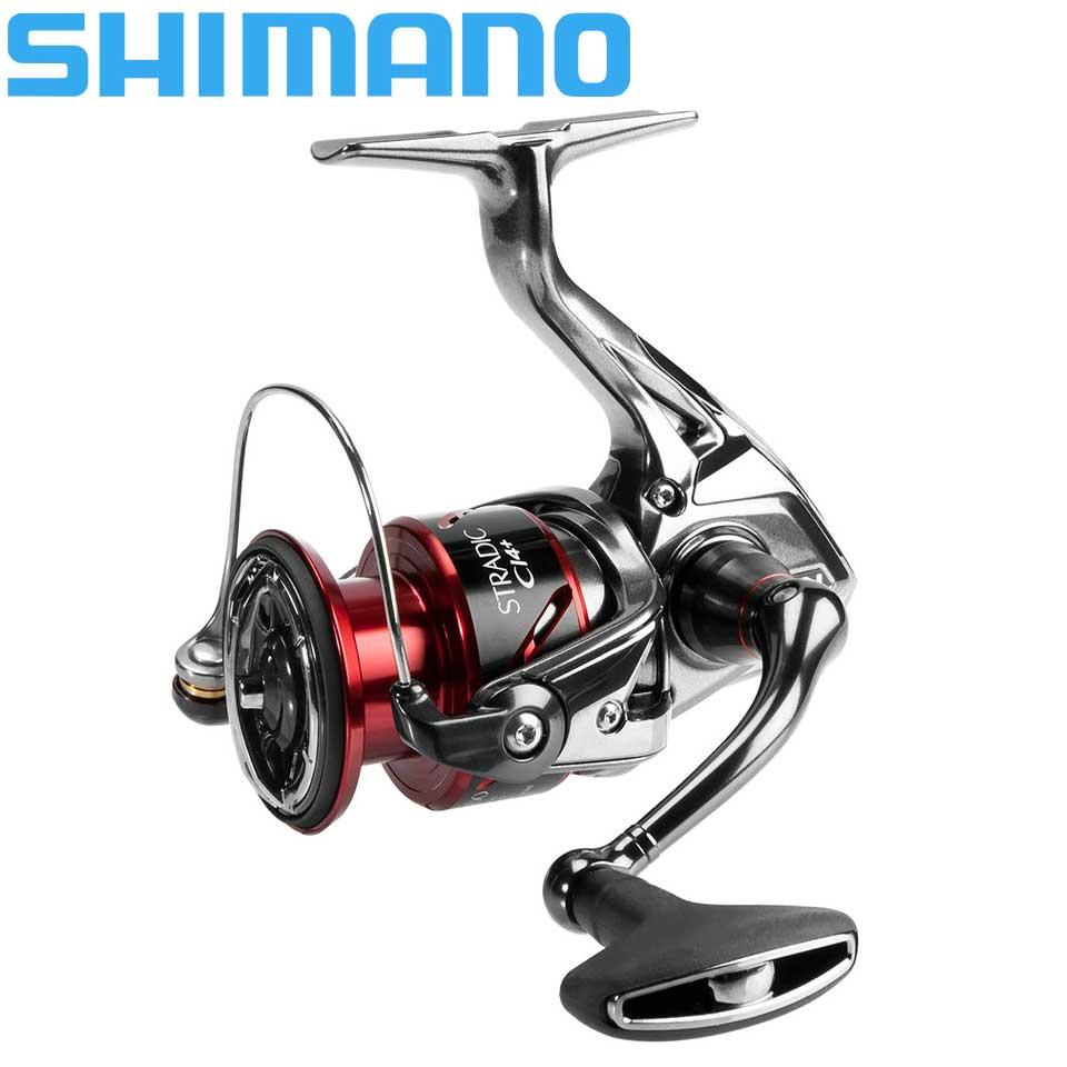 Carrete de pesca de giro SHIMANO stradic ci4 1000/2500/C3000/4000 6 + 1BB AR-C carrete de pesca de agua de mar rollo