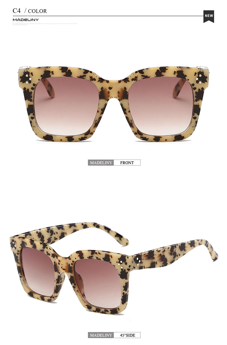 HTB1T QnaGLN8KJjSZFKq6z7NVXat - MADELINY Fashion Sunglasses Women Vintage Brand Design Square Luxury Sun glasses Big Frame Shades Eyewear Oculos UV400 MA033