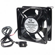 1 Piece 120x120x38mm 12cm 220V 240v Computer Case AC Cooling Fan 120mm papst 4656n ac 230v 19w 18w 120x120x38mm server square fan