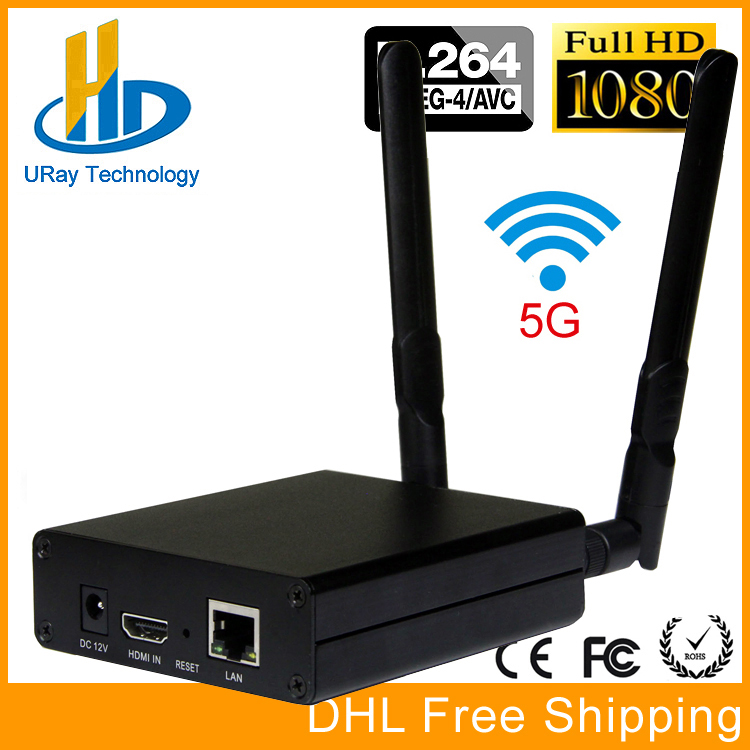 DHL Free Shipping MPEG-4 AVC / H.264 WIFI HDMI Video Encoder HDMI Transmitter Live Broadcast Encoder Wireless H264 IPTV Encoder