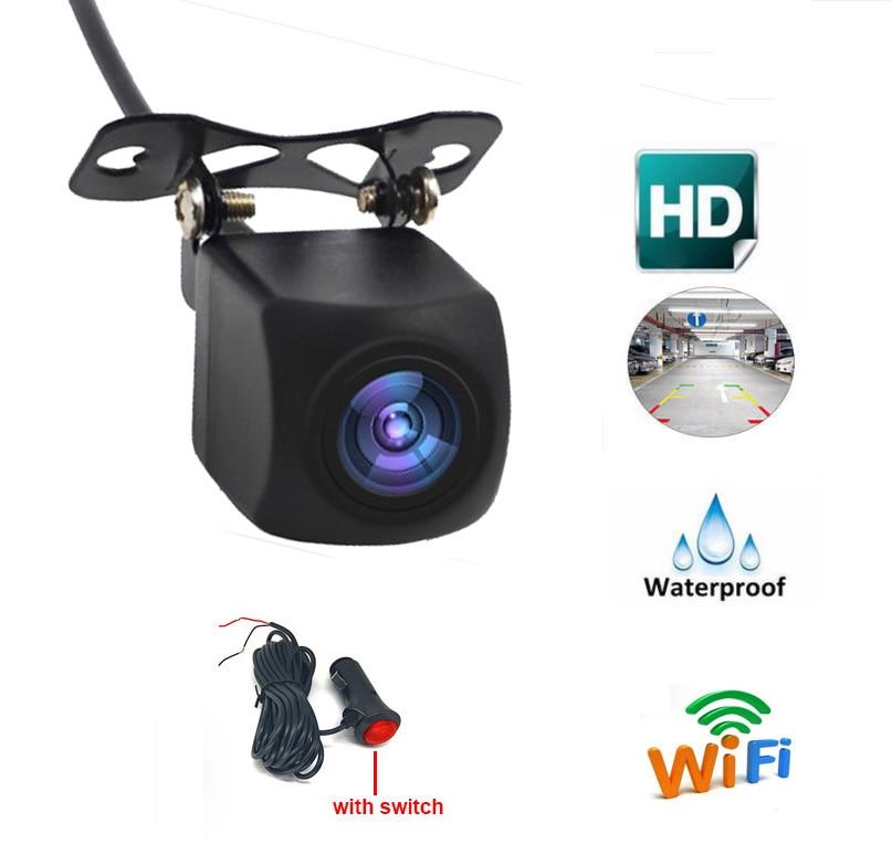 Caméra de recul WIFI caméra de recul caméra de Vision nocturne avec bouton de commutation marche-arrêt pour téléphone IOS et Android