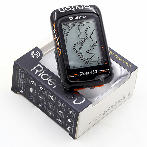 Bryton Rider 450E/450T GPS Bike Bicycle Cycling  Wireless Computer global version