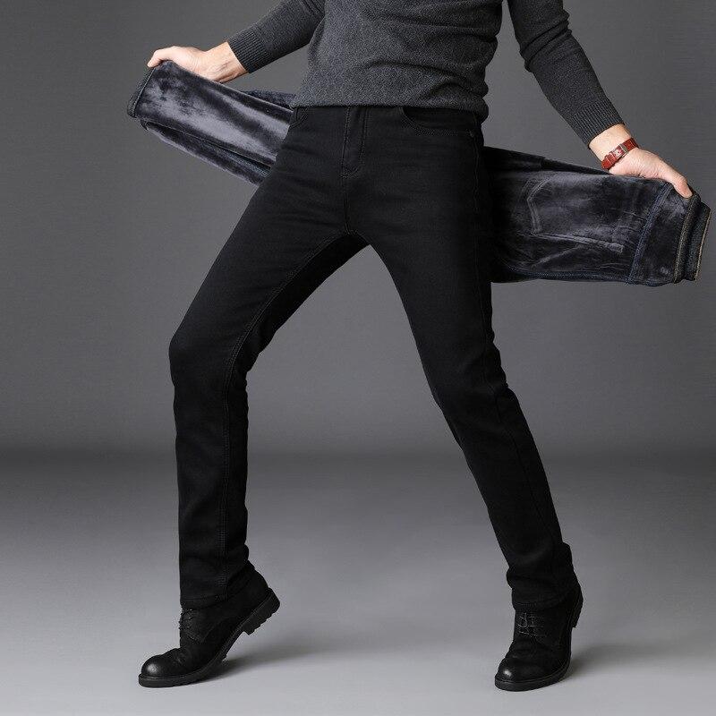 72bf0f2ea2c0 European American Fashion Streetwear Mens Jeans Jogger Pants Youth Fashion  Summer Ankle Banded Pants Brand Boot 2019 Men Fashion Winter Jeans Men  Black Slim ...