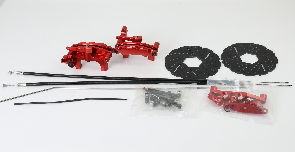 front wheel line wire brake system for 1/5 scale rc baja 5B 5T 5SC parts  rc car spare parts HPI KMfront wheel line wire brake system for 1/5 scale rc baja 5B 5T 5SC parts  rc car spare parts HPI KM