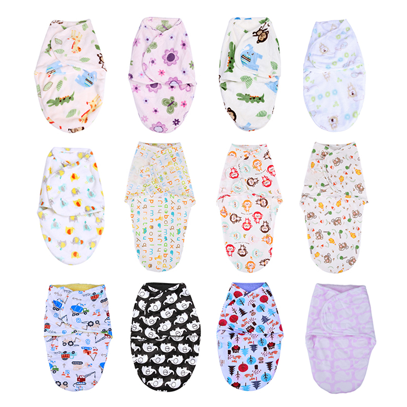 Warm Envelope For Newborns Baby Sleeping Bag Swaddle Wrap Baby Soft Sleep Bag Newborn Baby Stroller Sleeping Sack Blanket