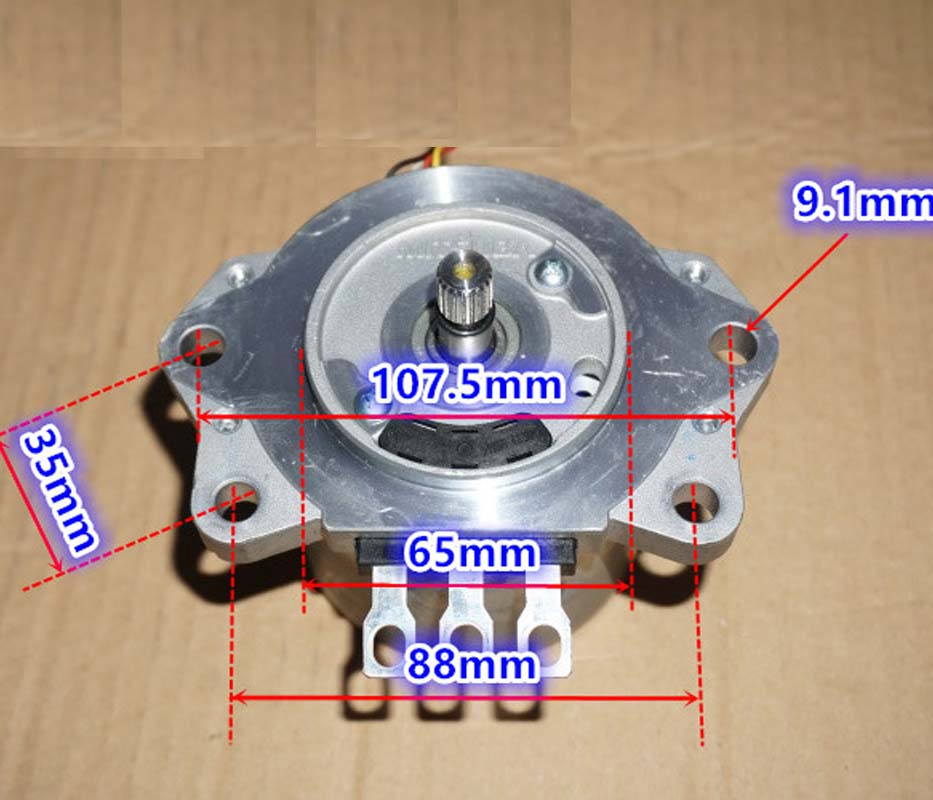 High torque 3.8N.m 12V DC motor DC high power 600w resolver brushless servomotors DIY image