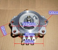 High torque 3.8N.m 12V DC motor DC high power 600w resolver brushless servomotors DIY