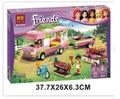 Новый оригинальный друзья бела 10168 р . пластиковые блоки 314 шт./компл. девушки приключения крепеж-кемпер кирпич игрушки , совместимые с Legoe