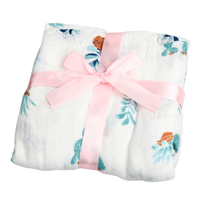 AINAAN Baby Blanket Muslin Swaddle Wraps Cotton Bamboo Baby Blankets Newborn Bamboo Muslin Blankets Fox free shipping h letter blanket brand designer home blankets wool cashmere car travel portable blankets throw bed 158x138cm size