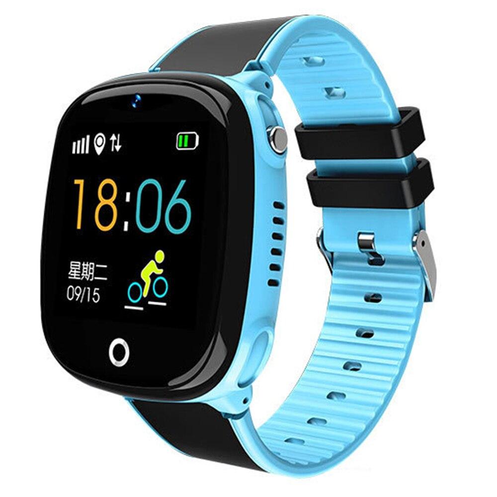 HW11 Crianças Família Dispositivo Wearable Pedômetro À Prova D' Água Do Bluetooth Smartwatch GPS SOS Chamada Safe Kids Relógio Inteligente Pk Q50 Q90