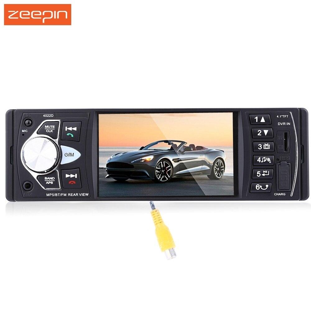 4 1 inch 4022D Car Radio MP3 MP5 Player Bluetooth FM Transmitter Stereo Audio Car MP4