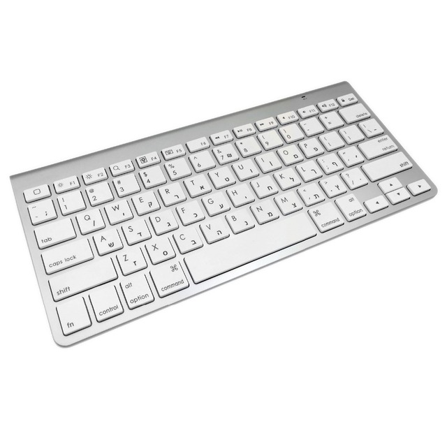 High Quality Ultra-Slim Bluetooth Keyboard Mute Tablets and Smartphones For Apple Wireless Style IOS Android Windows 4