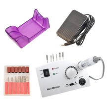 35000Rpm Nail Drill Manicure Machine For Professional Manicure Pedicure Electric Nail File Tools Drill Polish Bits Tools Kits professional electric nail machine for manicure 35000rpm handpiece 65w nail drill electric manicure drill