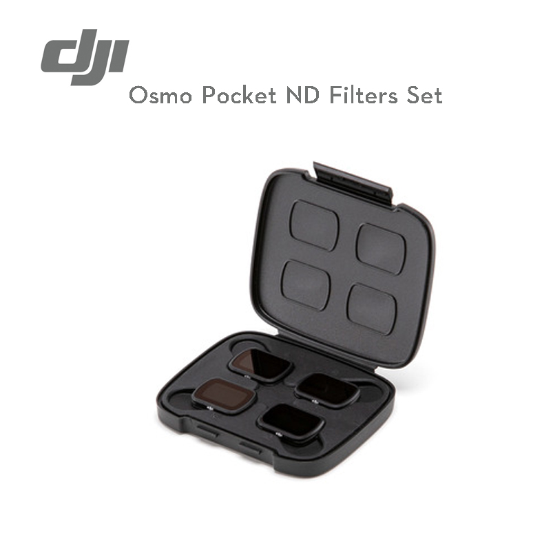 DJI Osmo Pocket ND Filters Set magnetic design makes it easy to change between ND filter