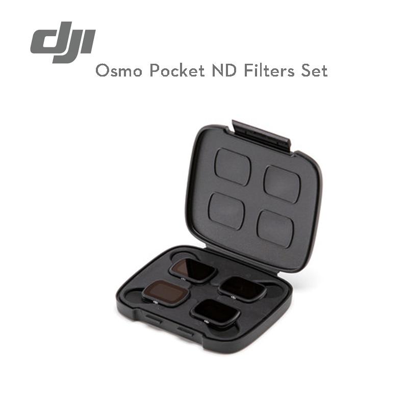 DJI Osmo Pocket ND Filters Set magnetische ontwerp maakt het gemakkelijk te veranderen tussen ND filter voor DJI OSMO Pocket in voorraad originele-in Gimbal accessoires van Consumentenelektronica op  Groep 1