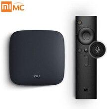 Международный Сяо Mi Ми Box 3 Android 6.0 Smart WI-FI Bluetooth 4 К HDR H.265 комплект-топ ТВ коробка Youtube Netflix DTS IP ТВ media player