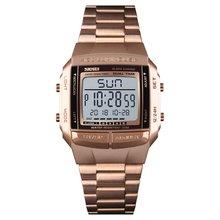 цена SKMEI Top Brand Fashion Watch 30m Waterproof Multifunction LED Digital Watch Business Casual Wrist Watch Models Relogio Watches онлайн в 2017 году