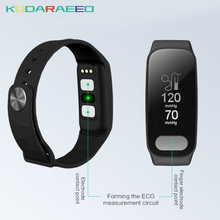 PPG R11 Inteligente Pulseira ECG Heart rate Pedômetro Calorie tracker faixa de Pressão Arterial Inteligente Andriond Esporte Pulseira Para iOS