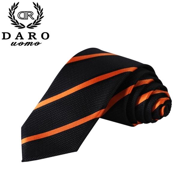 Moda Para Hombre A Rayas de Negocios Corbatas de Poliéster Pañuelo Pañuelo Corbata para Hombre Corbatas DR-03