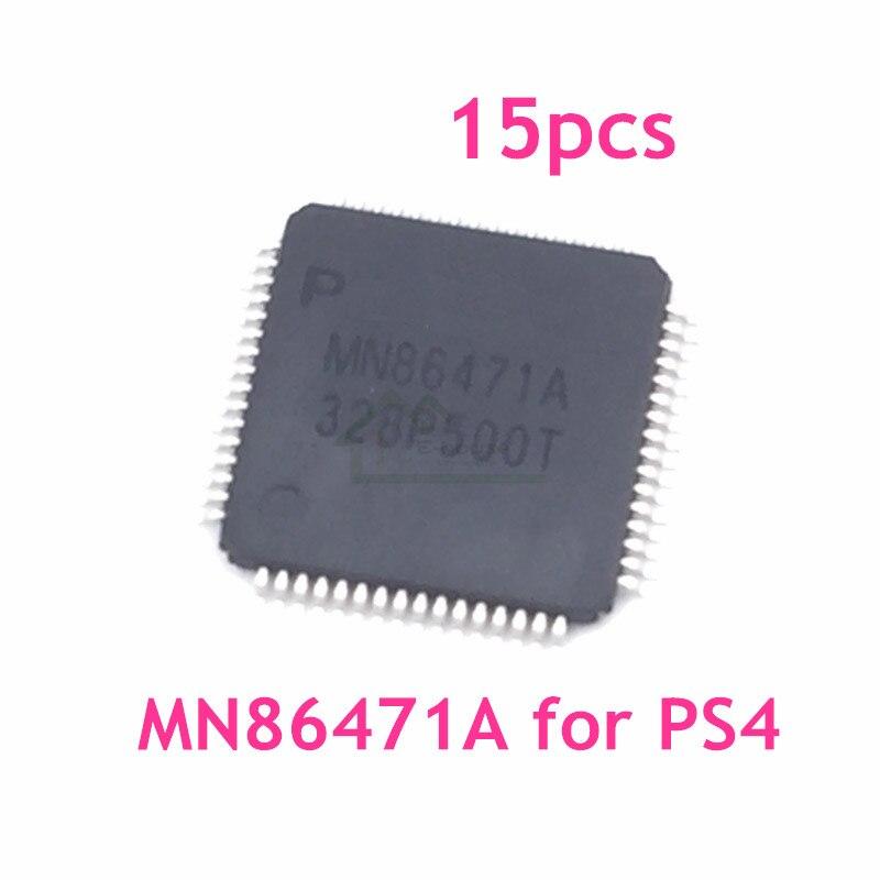 15 pcs Originele Nieuwe Chip voor Playstation 4 voor PS4 Originele HDMI IC Chip MN86471A N86471A Vervanging-in Vervangende onderdelen en toebehoren van Consumentenelektronica op  Groep 1