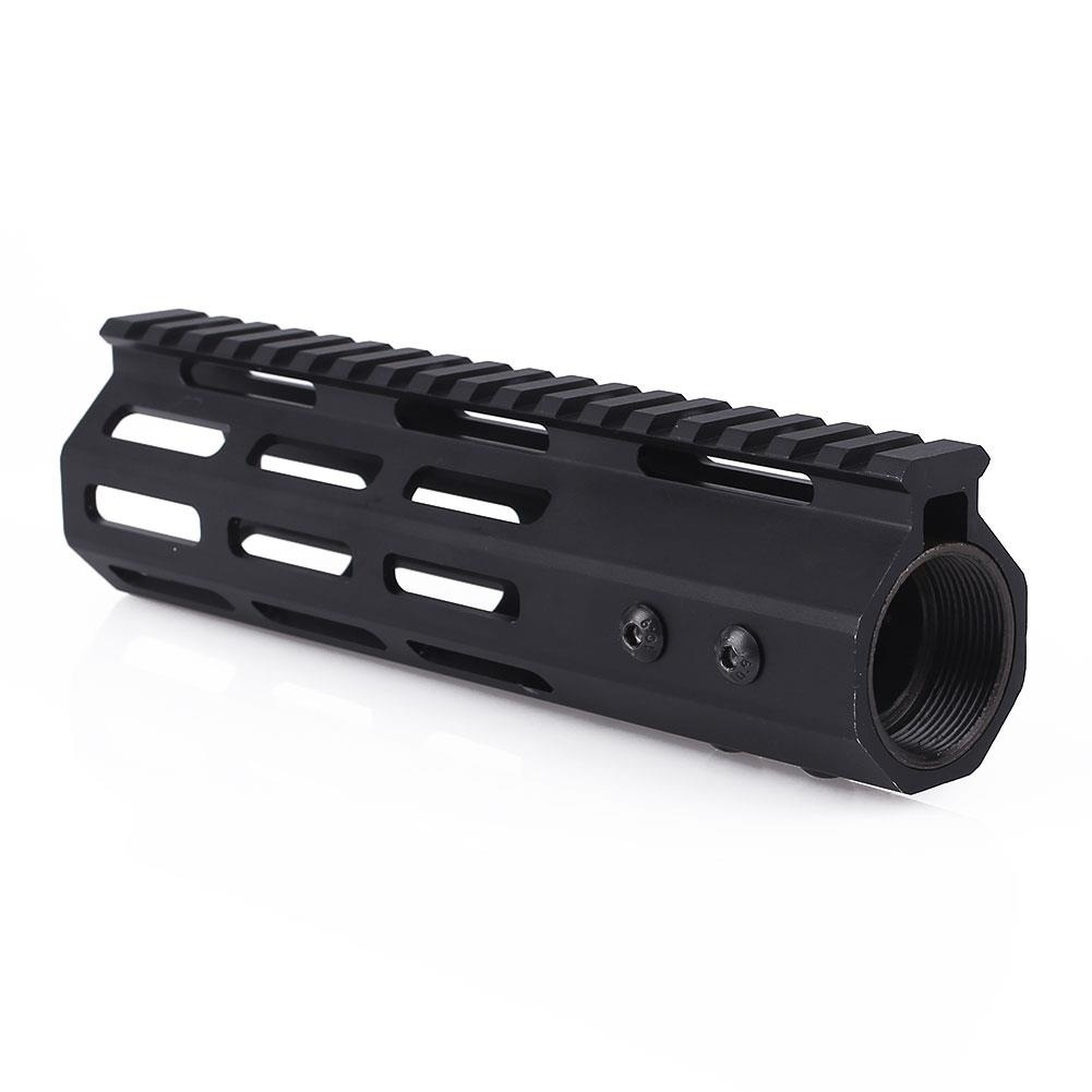 "Magorui 7""/10""/12""/15"" Ultralight Slim Free Float Float M-lok Handguard Rail With Steel Nut(China)"