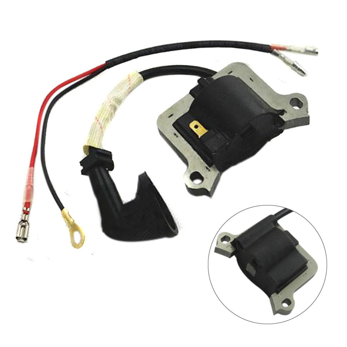 DWZ Ignition Coil Fit For Chainsaw Strimmer Brush Cutter Lawnmower 2 Stroke Engine relay cdi ignition ignition coil regulator for yamaha xv250 virago vstar 250