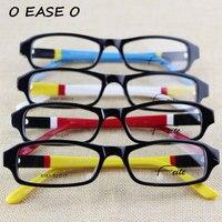 2015 Hot Sale Stylish Multi Color Eyeglasses Full Rim Top Quality Unisex Acetate Rectangular Optical Eyeglasses