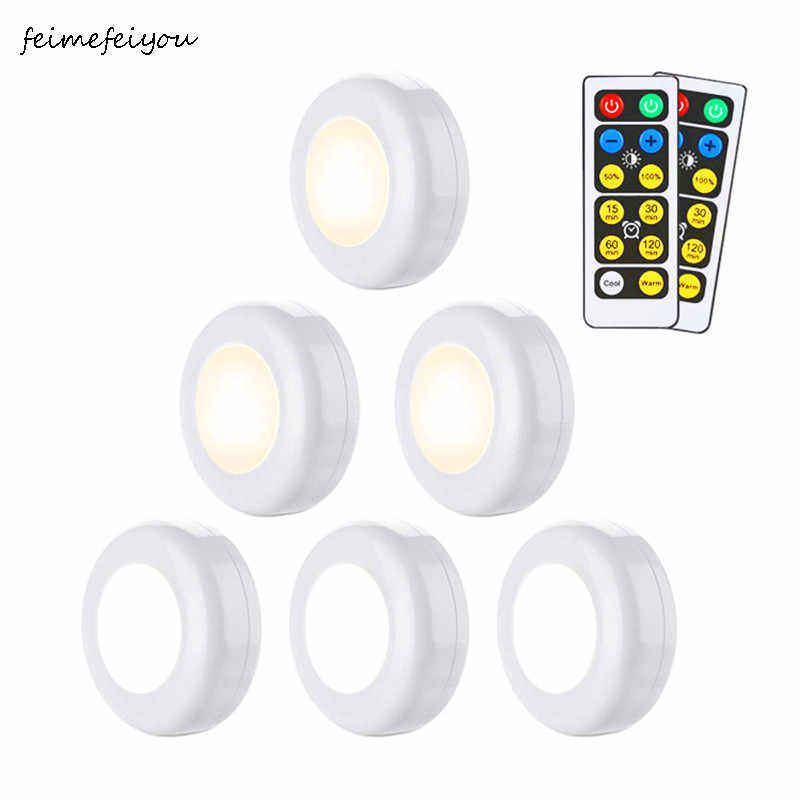 Wireless Dimmable Touch Sensor led light Under Kitchen Cabinets lights LED Lights For Close Cabinet Stair Hallway Night Light