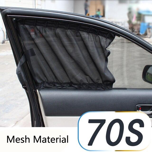 Aliexpress.com : Buy Flat Cartain 70S Car Auto Window Curtain ...