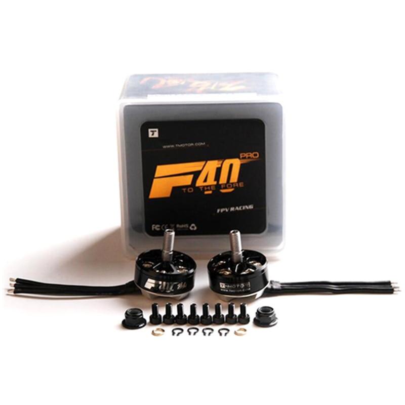 High Quality T-Motor F40 2305 PRO 2400KV 2600KV 4S Brushless Motor For 200 210 220 250 RC Frame Kit high quality 3d brushless motor h2221