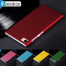 Matte Plastic Coque Cover 5.0For Xiaomi Mi3 Case For Xiaomi
