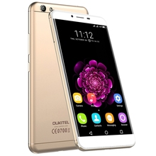Oukitel U15S Мобильного Телефона Android 6.0 5.5 Дюймов Смартфон MT6750 Окта основные 4 ГБ + 32 ГБ 13.0MP 1920×1080 FHD Отпечатков Пальцев ID 4 Г FDD