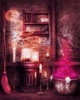 עטלפים ליל כל הקדושים רקע צילום רקע תמונה מטאטא קסם ספר לצילום סטודיו אבזרי צלם photophone