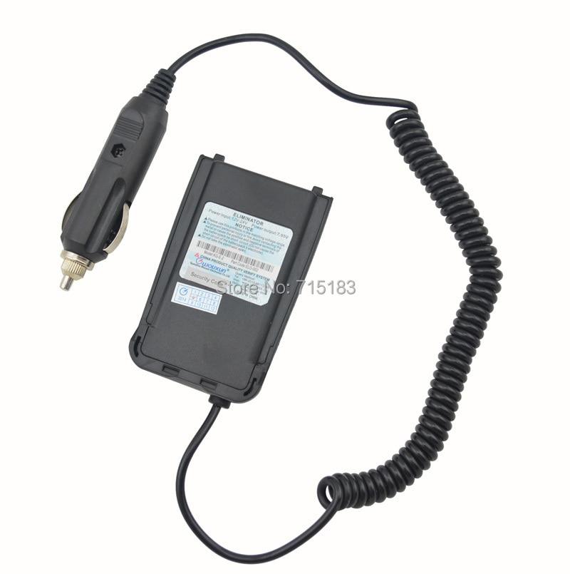 Eredeti Wouxun autós töltő akkumulátor Eliminator a WOUXUN KG-UV8D készülékhez Hordozható kétirányú rádió, akkumulátorcsatlakozó Wouxun KG UV8D-hez