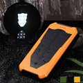 Woweinew 14000mAh Special Edition Solar Power Charger External Battery Pack Power Bank with led light wholesales