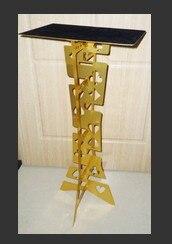 Горячие продажи магия высокого качества алюминиевого сплава складной столик магия таблице магия опоры