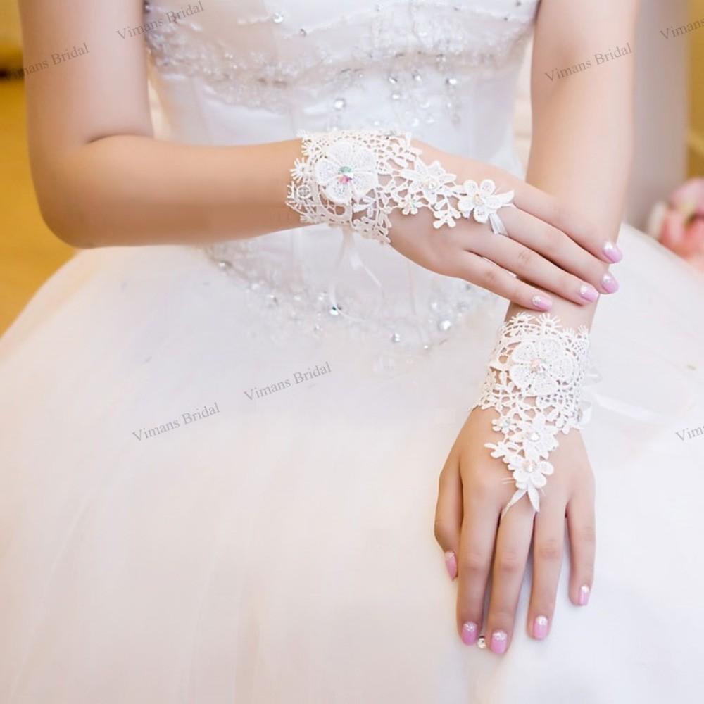 2015-Free-Shipping-High-Quality-Bride-Wedding-Party-Dress-Fingerless-Rhinestone-Lace-Bridal-Gloves-Wedding-Gloves
