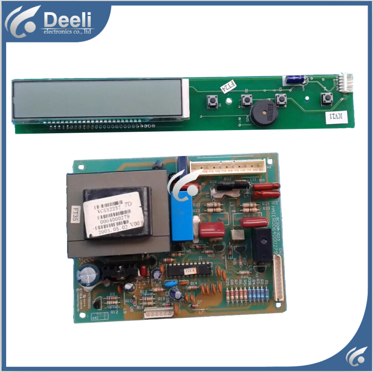 ФОТО 95% new good working for Haier refrigerator Frequency inverter board driver board 0064000279 Display panel 64000280 Set