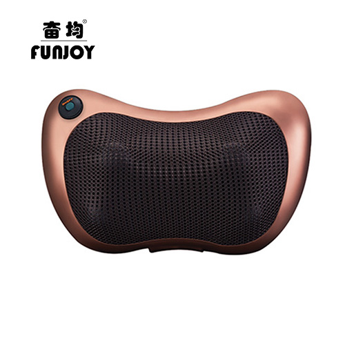 Electric Massage Pillow Infrared Heating Kneading Cervical Neck Shoulder Auto Shiatsu Massager Car-use massage & relaxation electric antistress therapy rollers shiatsu kneading foot legs arms massager vibrator foot massage machine foot care device hot