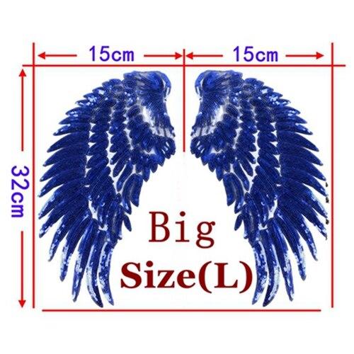 1 Pair Blue Big