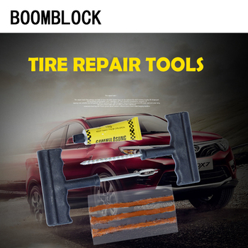 BOOMBLOCK 1SET Facelift Professional Car Tire Repair Tool Kit For Mercedes W204 W210 AMG Benz Bmw E36 E90 E60 Fiat 500 Volvo S80 image